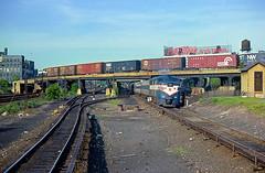 Long Island 616 (Chuck Zeiler) Tags: li longisland railroad fa2 616 newyork alco locomotive train chuckzeiler chz bridge switch