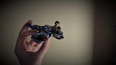June 27: The end of an era... (Snowhitie) Tags: lego abuildadaykeepsthedoctoraway microfighter crait skispeeder swoosh