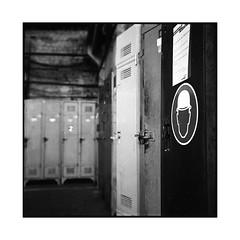 grand train 5 • paris, france • 2016 (lem's) Tags: grand train vestiaires casque helmet lockers station gare paris france rolleiflex planar