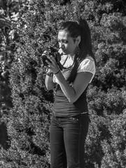Photographer (clarkcg photography) Tags: portait woman photographer shoot setup blackandwhite blackwhite bw