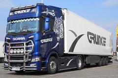 Scania CS HL Grunke [PL] (rommelbouwer) Tags: scania grunke