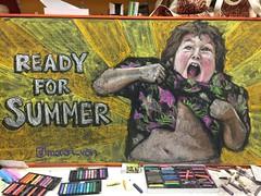 Summer vibes 2018 (monana83) Tags: art 2d chalkboard chalkart chalk