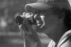 He Likey Leicas (macromary) Tags: leicaflexsl leica leitz leicaflex slr primelens vintage camera manual film bw blackandwhite florida nature rodinal macro 60mm elmarit monotone palmbeachcounty kentmere kentmerefilm kentmere100 60mmelmarit macrolens portrait shoottheshooter
