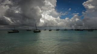 A fishing village in northern Zanzibar