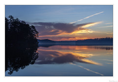 Reflected Sunrise (John Cothron) Tags: 5dclassic 5dc americansouth brownsbridgeroad cpl canonef50mmf14usm cothronphotography dixie galandscapephotography gainesville georgia georgialandscapephotography georgiaphotographer hallcounty johncothron lakelanier mountainviewpark southatlanticstates southernregion thesouth us usa usaphotography unitedstatesofamerica boatdock calm circularpolarizingfilter clearsky cloud clouds cold floating lake lakeshore landscape morninglight nature outdoor outside plant plants reflection reservoir scenic serene sky sunny sunrise tranquil tree water winter img0429100120coweb6272018 ©johncothron2010 reflectedsunrise