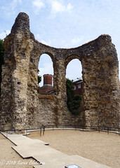 July 1st, 2018 Reading Abbey ruins and Reading Gaol (karenblakeman) Tags: reading uk readingabbey ruins readinggaol 2018 2018pad july berkshire