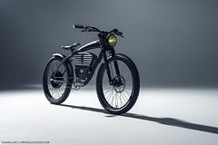 Vintage Electric Scrambler S Bike (Richard.Le) Tags: richard le automotive bicycle photography commercial two wheels studio light painting lighting strobe profoto b1x sony a7rii blacked out vintage electric bikes classic motor flickr popular tag hashtag hash explore transport transportation mac house production new model adobe photoshop mood shadow