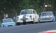 Martin Reynolds - Ford Anglia (Historic Touring Cars) (joshbarrett94) Tags: hscc brandshatch saloons