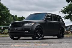 Land Rover Range Rover on Redbourne Kensington wheels - 1 (tswalloywheels1) Tags: matte black land rover range redbourne kensington aftermarket gloss wheel wheels rim rims alloy alloys concave