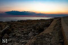 Rest Bay, Porthcawl (kylemarham) Tags: wales porthcawl cymru rocks dark light rockpool