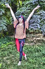 XXX_DSC0035 (irishguards) Tags: new colour girljester clown sprite dance gardenplay
