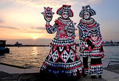 Mask Carnival Venice 2018 (MelindaChan ^..^) Tags: mask carnival venice 2018 italy 意大利 威尼斯 life play chanmelmel mel melinda melindachan cosplay
