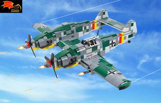 Bf-109Z Heavy Fighter - 83
