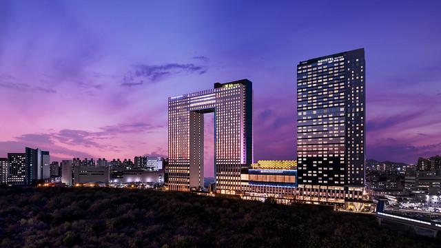 ソウルのホテル:ノボテル アンバサダー ソウルヨンサン(外観)