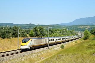 Eurostar dans la Drôme