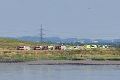 Emergency Vehicles (John A King) Tags: emergency vehicles rainham marshes