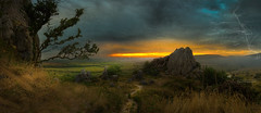 footpath (Kambo Dscha) Tags: middleearth medieval chapel rock roche cornwall frodo hobbit mordor baggins lotr sunrise nikon kambodscha shire