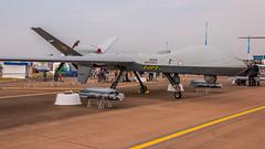Reaper RPAS (Tony Howsham) Tags: canon eos70d sigma 18250 royal international air tattoo airshow raffairford static reaper mq9 rpas