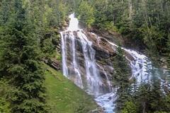 Pyramid Falls (Jessie T*) Tags: viarail traintrip pyramidfalls waterfall landscape forest creek blueriverbc canada cans2s