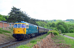 33108. (curly42) Tags: 33108 class33 svr railway transport preserveddieselloco svrdieselgala2018 severnvalleyrailway