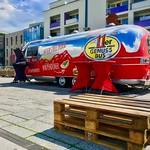 Street food trailer in Kufstein, Tyrol, Austria thumbnail