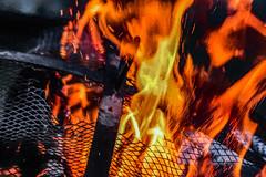 Burn Away (p) (davidseibold) Tags: america bakersfield california firepit flame jfflickr kerncounty painting photosbydavid platoct postedonflickr unitedstates usa