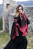 Lucia Pellegrini - Druidessa (elparison) Tags: druids celtic gothic portrait woman pretty blueyes