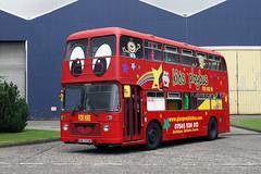HWJ931W (Glasgow Play Bus) Glasgow, August 2015 (Rays Bus Photographs) Tags: glasgowplaybus nonpsv bristolvr ecw hwj931w