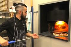 Tiamo's Pizza Ovens.. (Adam Swaine) Tags: ovens pizza chef italian restaurants cooking pettswood tiamo canon editorial photography adamswaine 2018 food fire