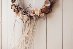 beach mood (thethomsn) Tags: beach mood white wooden wall decoration shabbychic seashall woodenwreath 50mm closeup greece thethomsn canon 6dmk2