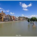 El Segre desbordat al seu pas per Balaguer thumbnail