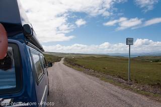 VW T4 Carthago Malibu @ Applecross Peninsula/SCO