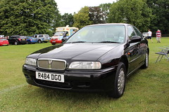 1997 Rover 600 (doojohn701) Tags: black vintage retro reflection classic car 1997 rover 600 uk british