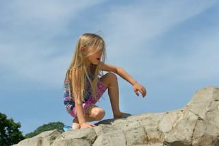 Child Rock Climbing 4240