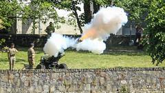 Military gun salute (jac.photography49) Tags: army canon exposure grass images gun smoke salute military