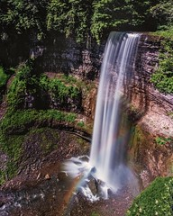 Tews Falls (-liyen-) Tags: motion longexposure outdoors nature tewsfalls hamilton ontario canada fujixt2 rainbow challengeyouwinner cyunanimous