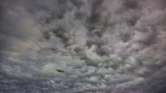 20180623_DP0Q0553-16x9 (NAMARA EXPRESS) Tags: landscape nature sky cloud daytime summer cloudy outdoor color gray plane airplane jetplane aeroplane 169 toyonaka osaka japan spp spp653 foveon x3 sigma dp0 quattro wide ultrawide superwide namaraexp