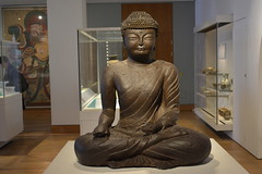 London, England, UK - British Museum - Korea - The Buddha, Goryeo Period, AD 900-1000 (jrozwado) Tags: europe uk unitedkingdom england london museum britishmuseum history culture anthropology korea buddha sculpture ethnography