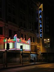 Palace Theatre on Broadway DTLA (avilon_music) Tags: palacetheatre palacetheater broadway dtla 1911 historictheaters theaters theater la streetscene losangeles nationalregisterofhistoricplaces moviepalace vaudeville historicla neon neonlights marquee neonbladesigns markpeacockphotography 5diii nightshots route66