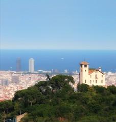 Sea and mountain...💙 (carlesbaeza) Tags: barcelona catalonia travel landscape ngc sea mountain