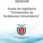 Treinamento Parlamento Universitário - Escola do Legislativo