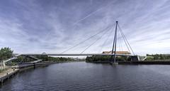 Millennium Bridge. (Durham George) Tags: stockton tees bridge millennium