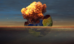 Stop! (Jackie XLY) Tags: earth environment explosion destroy protecttheenvironment plastics pollution human disaster nature planet animal globalwarming environmentalchange climate climatechange