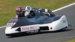 #1067 COLIN RUST NORTON ROTARY 588cc (MANX NORTON) Tags: sidecars f1 f2 honda yamaha suzuki kawasaki lcr cadwell 1067 colin rust norton rotary 588cc