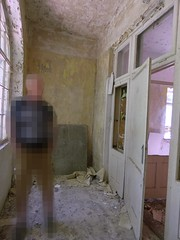 P1230888m (businessofferrets) Tags: urbanexploration urbex soviet lenin hausderoffiziere
