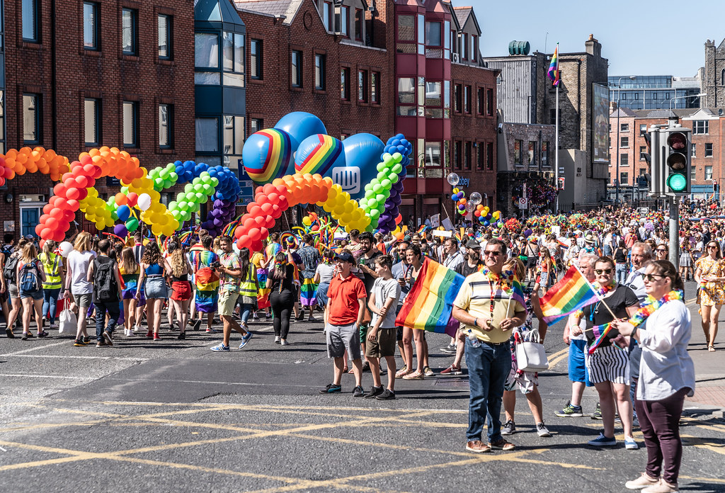 ABOUT SIXTY THOUSAND TOOK PART IN THE DUBLIN LGBTI+ PARADE TODAY[ SATURDAY 30 JUNE 2018] X-100278