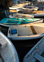 Row Boats (Geoff Livingston) Tags: maine culture fishing sea lobster pinetrees men economy