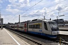 BOB VT103, Munchen-Hbf (cellique) Tags: bob vt103 bayerischeoberlandbahn intergral munchenhbf munchen spoorwegen treinen eisenbahn zuge railway train