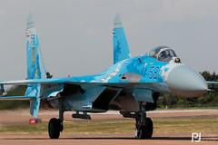 Ukrainian Air Force Su-27P 58 (philrdjones) Tags: 2018 58 70300mm 7dmkii aircraft airshow canon dslr egva ffd fairford figher flanker july lens raffairford riat royalinternationalairtattoo su27 su27p sukhoi ukraine ukrainianairforce