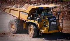 P1620032 (Denis-07) Tags: caterpillar 772 razel bec camion truck benne dumper chantier machine